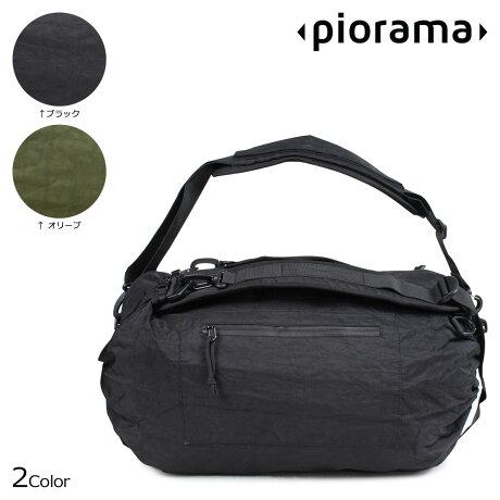 PIORAMA ピオラマ A10 バッグ ショルダーバッグ バックパック ボストン 31L 46.5L 62L THE ADIUSTABLE BAG メンズ レディース ブラック オリーブ [5/30 新入荷]