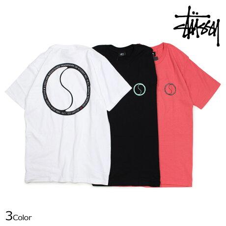 STUSSY ステューシー Tシャツ メンズ 半袖 S DOT TEE ブラック ホワイト ピンク 1904194 [5/28 新入荷]