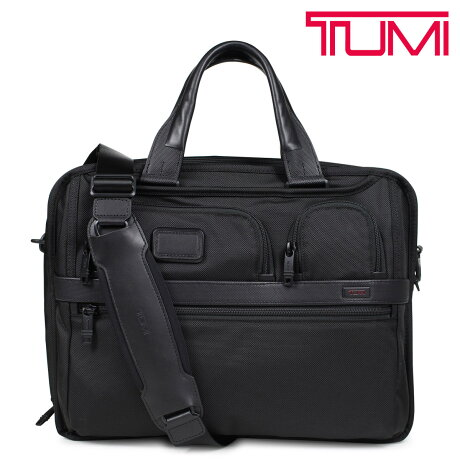トゥミ TUMI ビジネス バッグ メンズ ALPHA2 ブリーフケース T-PASS EXPANDABLE LAPTOP BRIEF ブラック 26145D2 [6/5 新入荷]