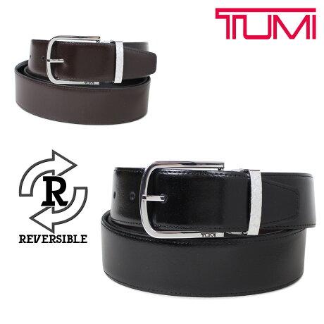 トゥミ TUMI ベルト メンズ レザー ブラック ブラウン リバーシブル フランス製 ビジネス カジュアル 1349 [6/5 新入荷]
