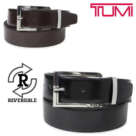 トゥミ TUMI ベルト メンズ レザー ブラック ブラウン リバーシブル フランス製 ビジネス カジュアル 1394 [6/6 新入荷]