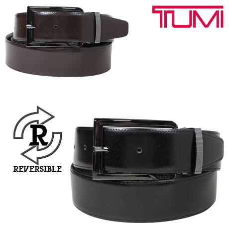トゥミ TUMI ベルト メンズ レザー ブラック ブラウン リバーシブル フランス製 ビジネス カジュアル 1395 [6/6 新入荷]