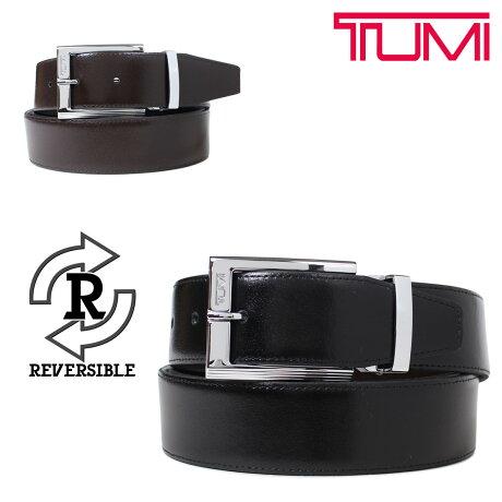 トゥミ TUMI ベルト メンズ レザー ブラック ブラウン リバーシブル フランス製 ビジネス カジュアル 15456NSDB [6/6 新入荷]