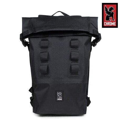 クローム リュック バッグ CHROME バックパック 18L メンズ レディース URBAN EX ROLLTOP 18 BG-217 ブラック [6/8 新入荷]