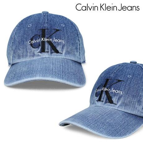 Calvin Klein Jeans ジーンズ カルバンクライン キャップ 帽子 メンズ レディース SPECIALITY CAP ブルー 41VH900 [6/20 新入荷]