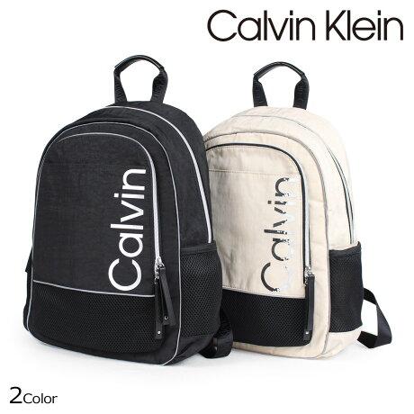 カルバンクライン Calvin Klein バッグ メンズ レディース リュック バッグパック ATHLEISURE BACKPACK ブラック ベージュ H7DKE6ZM [7/13 新入荷]