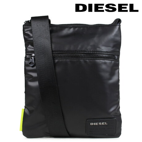 DIESEL F-DISCOVER CROSS ディーゼル バッグ メンズ レディース ショルダーバッグ X04813 P1157 T8013 ブラック [6/18 新入荷] [186]