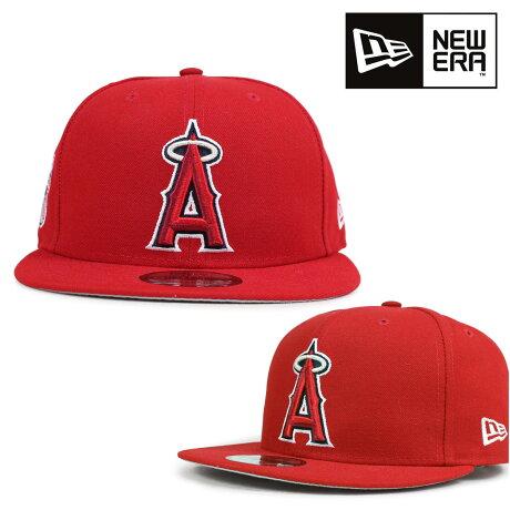 ニューエラ NEW ERA キャップ エンジェルス LOS ANGELES ANGELS OF ANAHEIM SNAPBACK MLB メンズ レディース レッド 10581518H [6/12 新入荷]