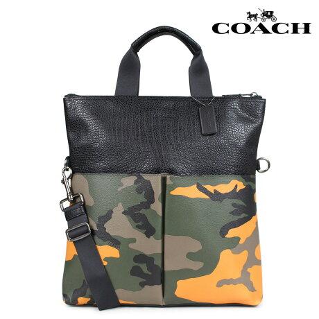 コーチ COACH バッグ トートバッグ メンズ レディース レザー オレンジカモ F24765 [7/10 新入荷]