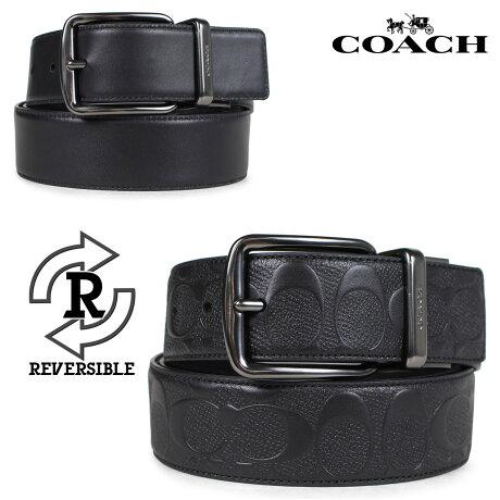 コーチ COACH ベルト リバーシブル メンズ レザー ブラック F55157 [7/10 新入荷]