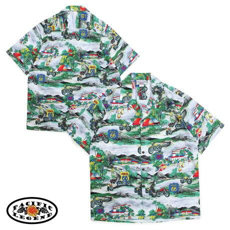 パシフィック レジェンド Pacific legend アロハシャツ メンズ ハワイ製 HAWAIIAN SHIRTS グレー 410-3914 [予約商品 6/30頃入荷予定 新入荷]