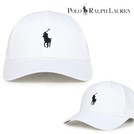 ポロ ラルフローレン 帽子 メンズ レディース キャップ POLO RALPH LAUREN ホワイト 710673610 [7/12 新入荷]
