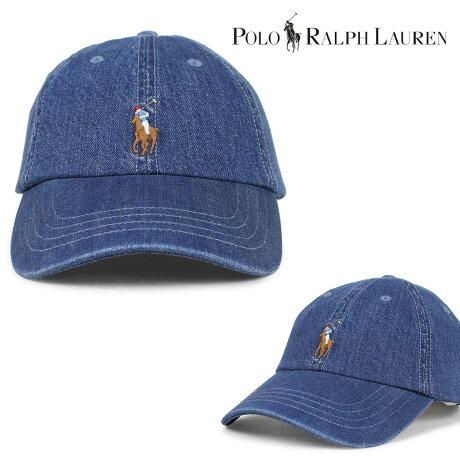 ポロ ラルフローレン 帽子 メンズ レディース キャップ POLO RALPH LAUREN ブルー 710674341 [7/12 新入荷]