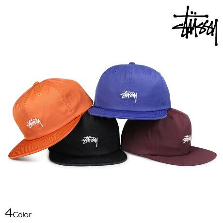 ステューシー STUSSY キャップ 帽子 メンズ スナップバック STOCK POLY COTTON SNAPBACK 131806 [予約商品 6/30頃入荷予定 新入荷]