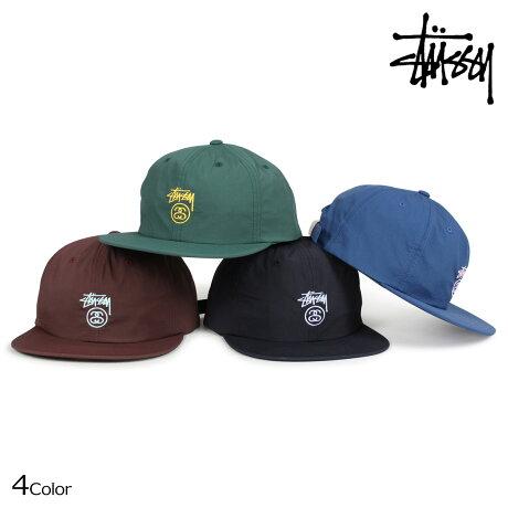 STUSSY ステューシー キャップ 帽子 メンズ STOCK LOCK TASLAN STRAPBACK CAP 131811 [6/30 新入荷]