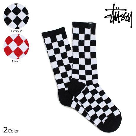 ステューシー STUSSY ソックス 靴下 メンズ レッグウェア CHECKER SOCKS 138633 [予約商品 6/30頃入荷予定 新入荷]