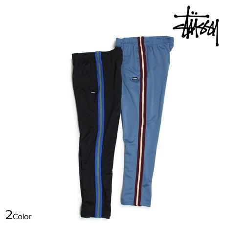 ステューシー STUSSY パンツ メンズ トラックパンツ POLY TRACK PANT ブラック ブルー 116348 [予約商品 6/30頃入荷予定 新入荷]