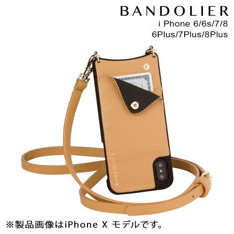 BANDOLIER バンドリヤー iPhone8 iPhone7 7Plus 6s ケース スマホ アイフォン プラス EMMA GOLDENROD メンズ レディース [9/19 新入荷]