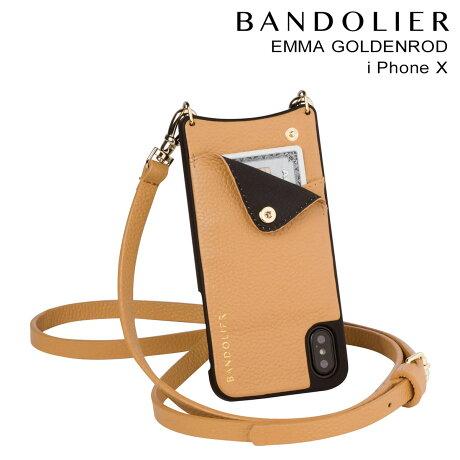 BANDOLIER バンドリヤー iPhoneX ケース スマホ アイフォン EMMA GOLDENROD レザー メンズ レディース [9/19 新入荷]