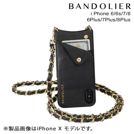 BANDOLIER バンドリヤー iPhone8 iPhone7 7Plus 6s ケース スマホ アイフォン プラス LUCY GOLD メンズ レディース [予約商品 9/14頃入荷予定 新入荷]