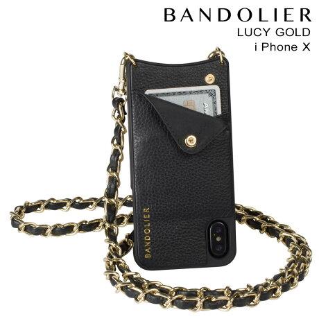 BANDOLIER バンドリヤー iPhoneX ケース スマホ アイフォン LUCY GOLD レザー メンズ レディース [予約商品 9/14頃入荷予定 新入荷]