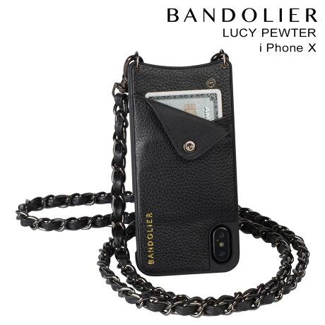 BANDOLIER バンドリヤー iPhoneX ケース スマホ アイフォン LUCY PEWTER レザー メンズ レディース [予約商品 9/14頃入荷予定 新入荷]