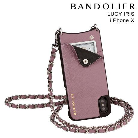 BANDOLIER バンドリヤー iPhoneX ケース スマホ アイフォン LUCY IRIS レザー メンズ レディース [9/19 新入荷]