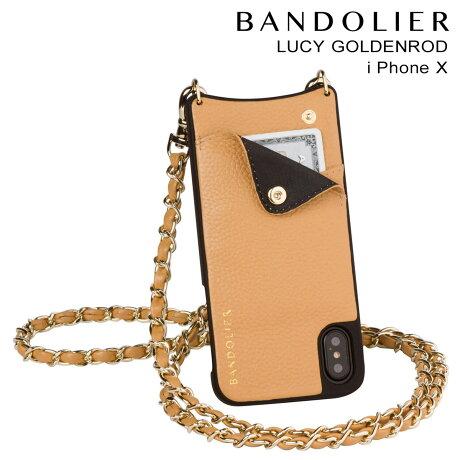 BANDOLIER バンドリヤー iPhoneX ケース スマホ アイフォン LUCY GOLDENROD レザー メンズ レディース [9/19 新入荷]