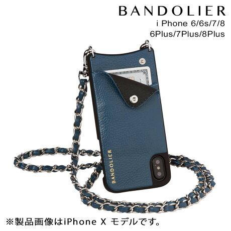 BANDOLIER バンドリヤー iPhone8 iPhone7 7Plus 6s ケース スマホ アイフォン プラス LUCY SAPPHIRE メンズ レディース [9/19 新入荷]