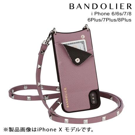 BANDOLIER バンドリヤー iPhone8 iPhone7 7Plus 6s ケース スマホ アイフォン プラス SARAH IRIS メンズ レディース [9/19 新入荷]