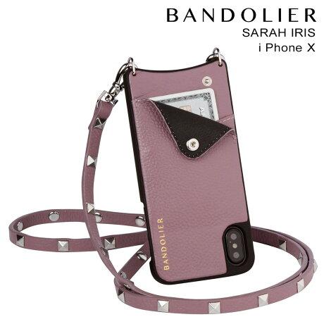 BANDOLIER バンドリヤー iPhoneX ケース スマホ アイフォン SARAH IRIS レザー メンズ レディース [9/19 新入荷]