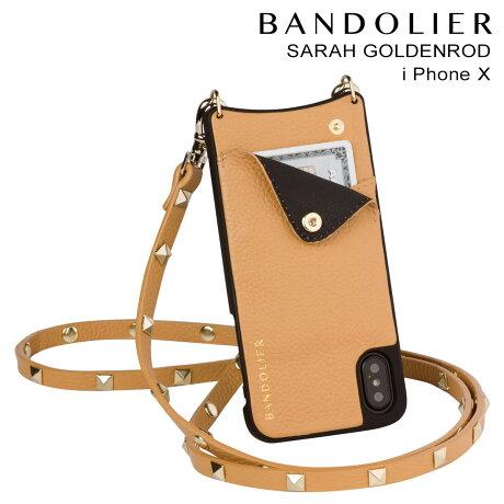 BANDOLIER バンドリヤー iPhoneX ケース スマホ アイフォン SARAH GOLDENROD レザー メンズ レディース [9/19 新入荷]