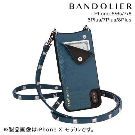 BANDOLIER バンドリヤー iPhone8 iPhone7 7Plus 6s ケース スマホ アイフォン プラス SARAH SAPPHIRE メンズ レディース [9/19 新入荷]