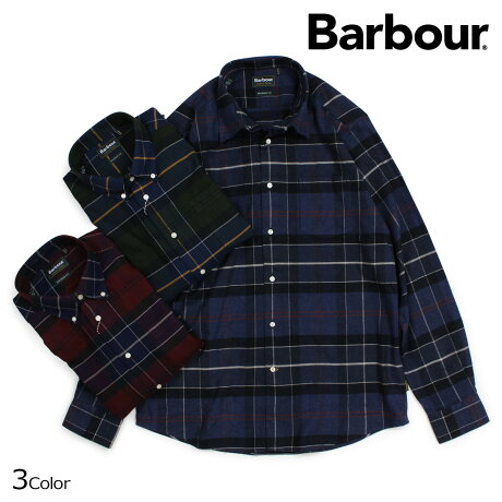 Barbour バブアー シャツ 長袖 メンズ チェック ボタンダウン LUSTLEIGH CHECK BUTTON DOWN MSH3749 [予約商品 9/28頃入荷予定 新入荷]