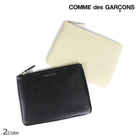 コムデギャルソン ポーチ 小物入れ メンズ レディース COMME des GARCONS SA5100 ブラック オフホワイト [9/10 新入荷]