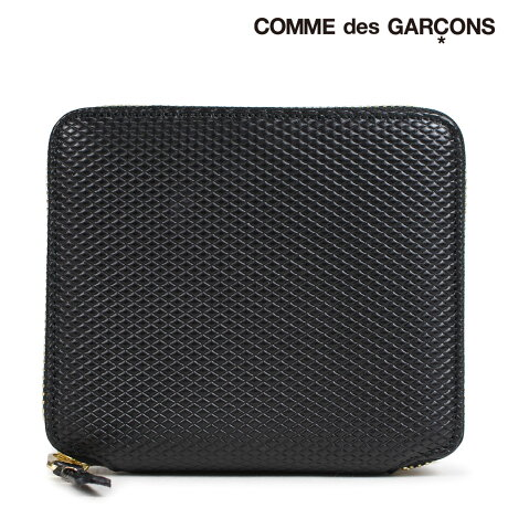 コムデギャルソン 財布 二つ折り メンズ レディース ラウンドファスナー COMME des GARCONS SA2100LG ブラック [9/10 新入荷]