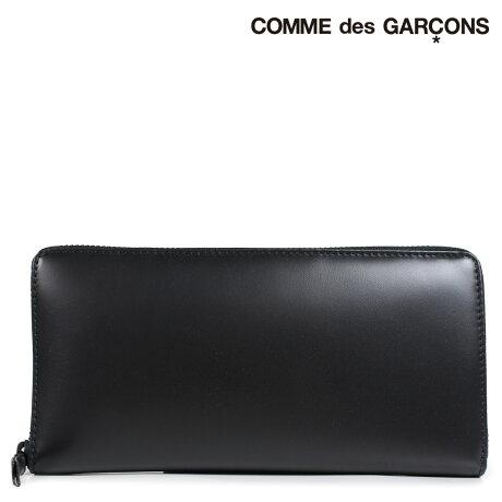 コムデギャルソン 財布 メンズ レディース 長財布 ラウンドファスナー COMME des GARCONS SA0110VB ブラック