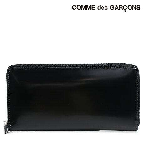 コムデギャルソン 財布 メンズ レディース 長財布 ラウンドファスナー COMME des GARCONS SA0110MI ブラック