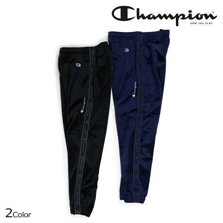 チャンピオン Champion パンツ メンズ ベロア ロングパンツ LONG PANTS ブラック ネイビー C3-N212 [10/12 新入荷]