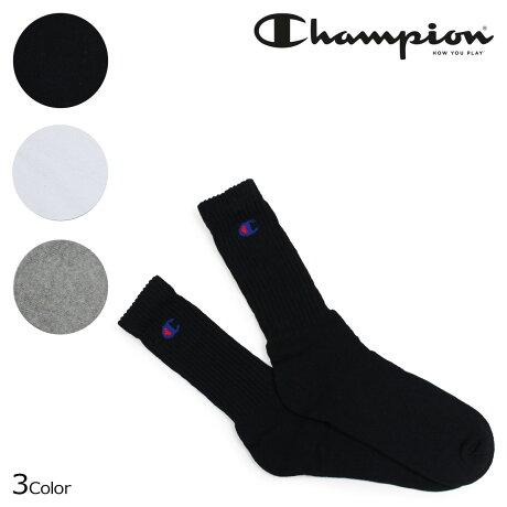 チャンピオン Champion 靴下 ソックス フルレングスソックス メンズ 3足セット FULLLENGTH SOCKS CMDCH001 [10/15 新入荷]