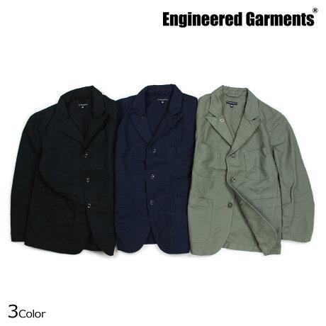 エンジニアドガーメンツ ENGINEERED GARMENTS ジャケット メンズ ベッドフォード BEDFORD JACKET ブラック ダークネイビー オリーブ [10/4 新入荷]