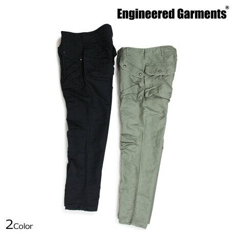 エンジニアドガーメンツ ENGINEERED GARMENTS パンツ メンズ ミリタリー NORWEGIAN PANT ブラック オリーブ [10/4 新入荷]
