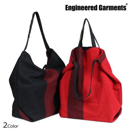 エンジニアドガーメンツ ENGINEERED GARMENTS バッグ メンズ レディース トートバッグ ショルダー CARRY ALL TOTE W STRAP ブラック レッド [10/4 新入荷]
