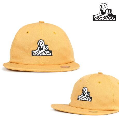 ジャングルズ JUNGLES キャップ 帽子 メンズ レディース SPHINX LOGO HAT マスタード JAH181041 [9/27 新入荷]
