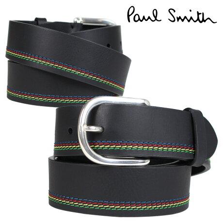 Paul Smith ベルト メンズ 本革 ポールスミス レザーベルト ブラック M2A 5538 APSSTI [10/11 新入荷]