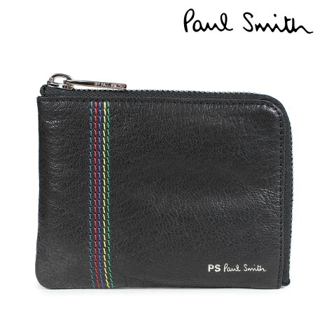Paul Smith 財布 メンズ 小銭入れ ポールスミス WALLET レザー ブラック M2A 5318 APSSTI [10/11 新入荷]