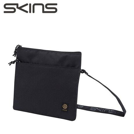 SKINS スキンズ ミニ ショルダーバッグ メンズ レディース MINI SHOULDER BAG ブラック KMAMJA43 [予約商品 9/19頃入荷予定 新入荷]