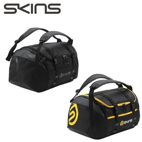 SKINS スキンズ ボストンバッグ メンズ レディース 45L 2WAY BOSTON BAG ブラック SRY7702 [予約商品 9/19頃入荷予定 新入荷]