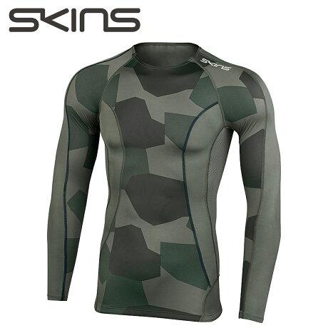 スキンズ SKINS A200 ロングスリーブトップ メンズ DNAMIC CORE カモ D83055015F [9/28 新入荷]