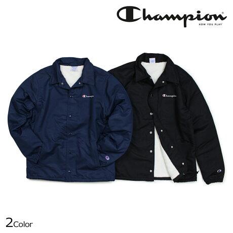 チャンピオン Champion ジャケット メンズ コーチジャケット COACH JACKET ACTION STYLE C3-L610 ブラック ネイビー [10/18 新入荷]